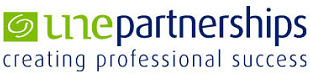 UNE Partnerships logo